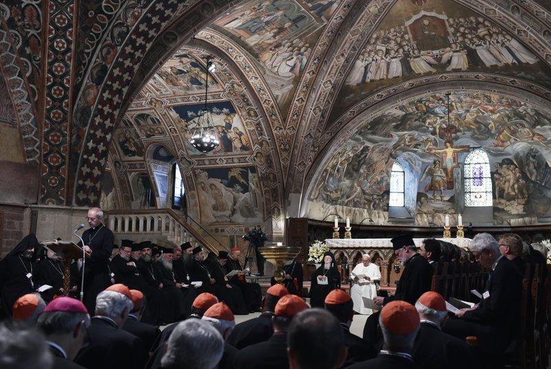 Pope Francis, Justin Welby, Bartholomew I