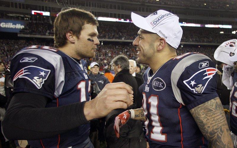 Tom Brady, Aaron Hernandez