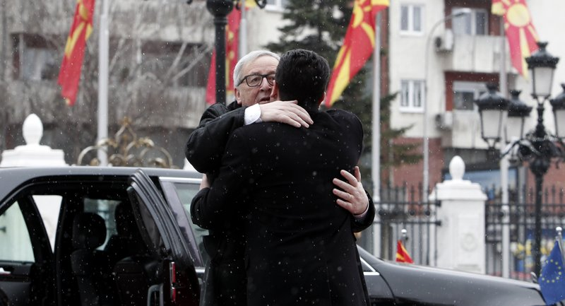 Jean-Claude Juncker, Zoran Zaev