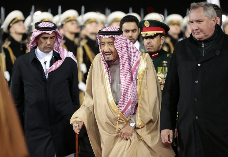 King Salman, Dmitry Rogozin