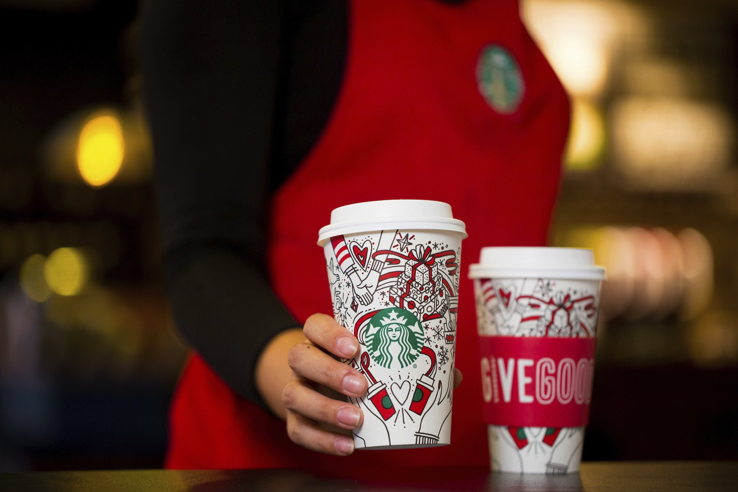 DIY holiday: Starbucks releases a color-it-in-yourself cup