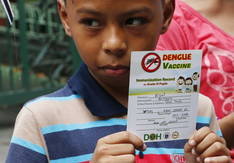 Philippines wants money back from Sanofi for dengue vaccine