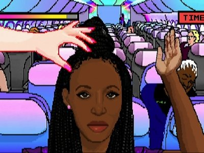 Online Game: Don't Touch Black People's Hair