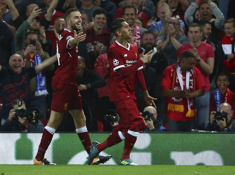 low priced d9c62 d490d Sparkling Liverpool back in the Champions League