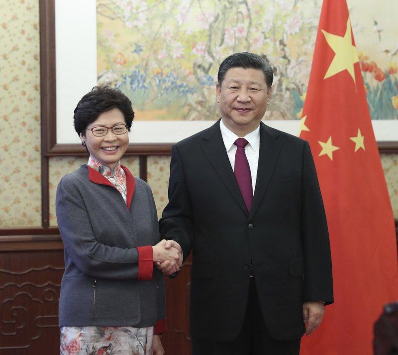 Xi Jinping, Carrie Lam
