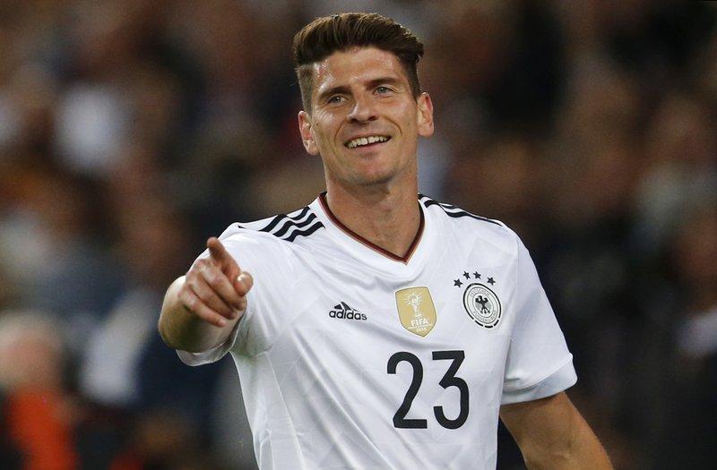 Germany forward Mario Gomez returns to Stuttgart