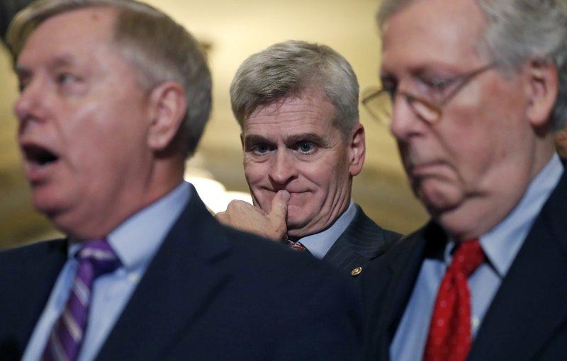 Bill Cassidy, Sen. Lindsey Graham, Mitch McConnell