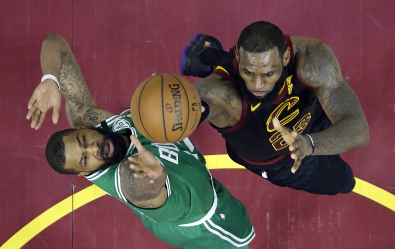 e8f091b97ee2 All tied up  LeBron s 44 helps Cavs even series with Celtics