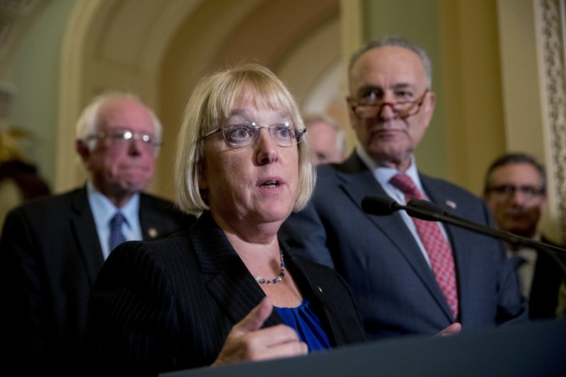 Patty Murray, Bernie Sanders, Chuck Schumer