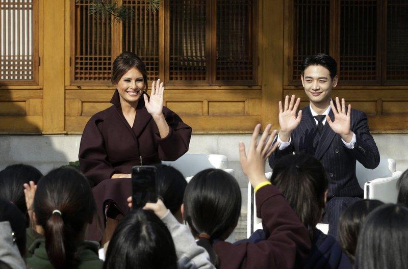 Melania Trump, Choi Min-ho