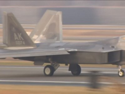 Raw: Massive US-South Korean Air Force Exercise