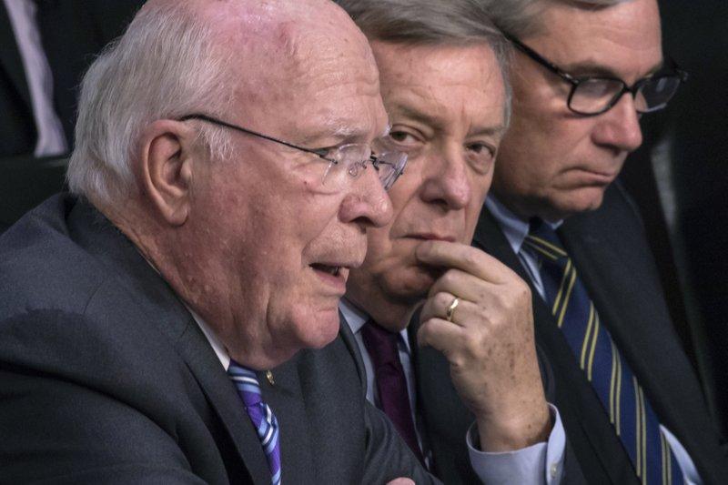 Patrick Leahy, Dick Durbin, Sheldon Whitehouse