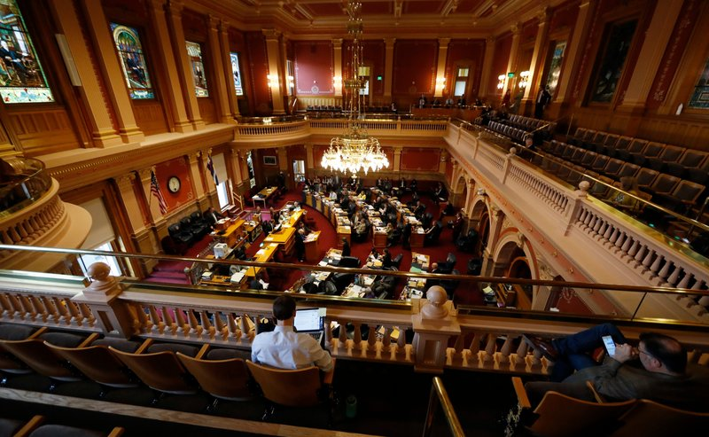 Colorado State Senate chmabers