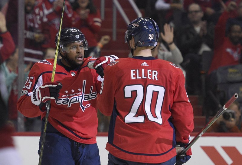 Devante Smith-Pelly, Lars Eller
