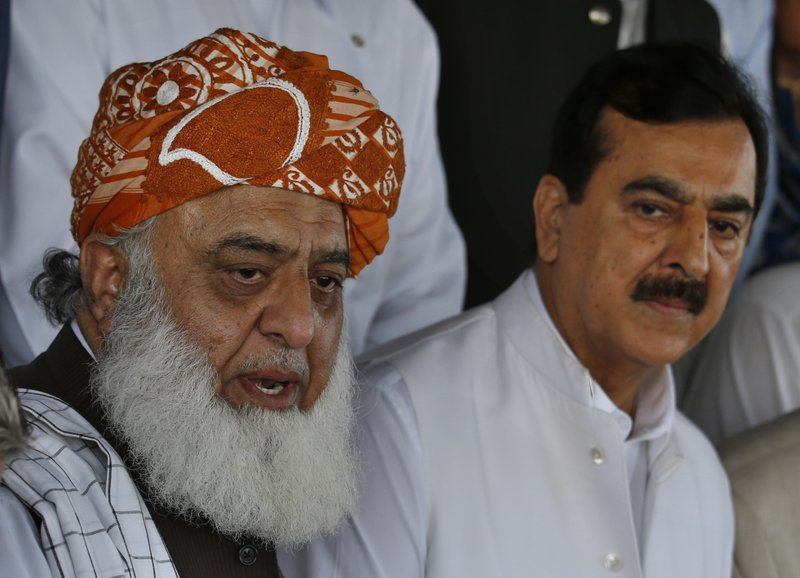 Maulana Fazlur Rehman, Yousuf Raza Gilani