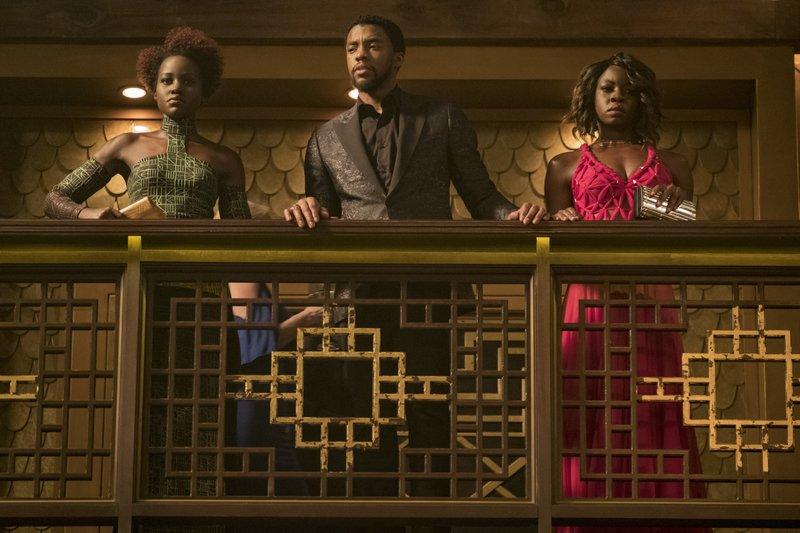 Chadwick Boseman, Danai Gurira, Lupita Nyong'o