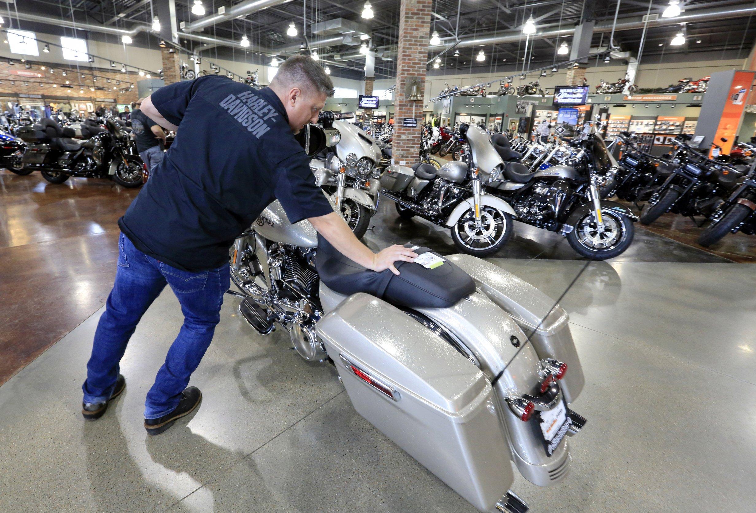Harley Motorcycles For Sale >> Harley Davidson Tops Estimates But Sales Decline