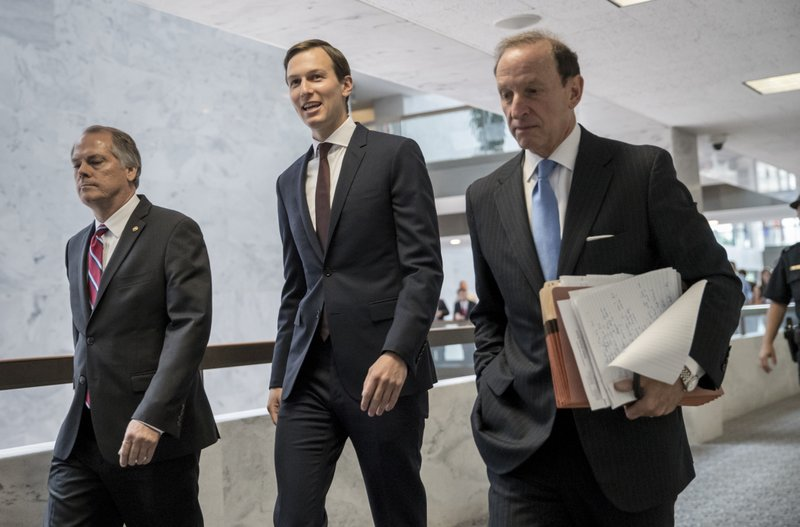 James A. Wolfe, Jared Kushner, Abbe Lowell