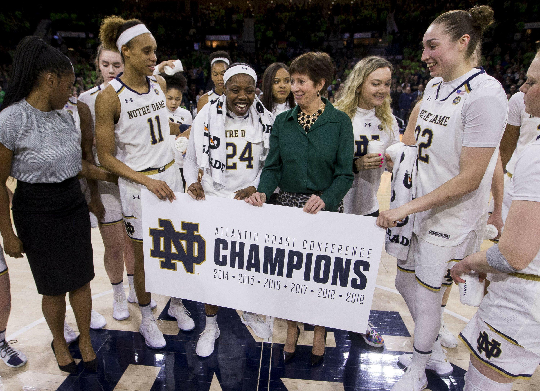 Notre Dame, Louisville lead ACC women's tourney field