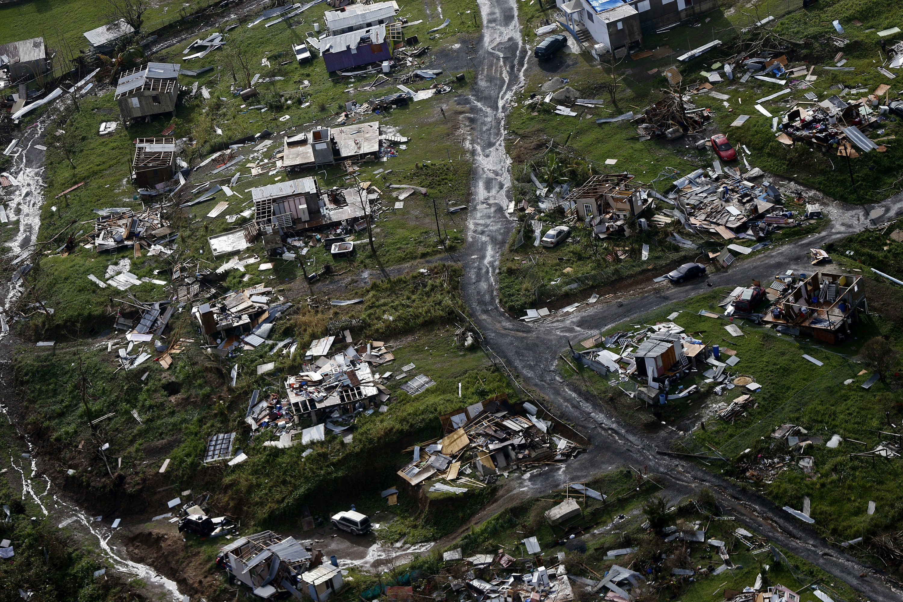 Trump lashes out at Puerto Rico as House passes aid package