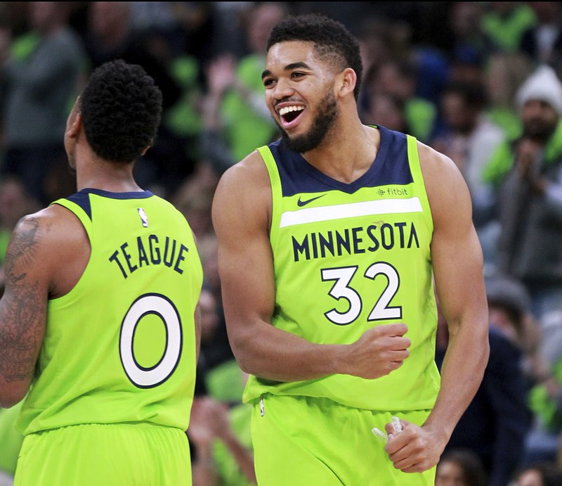 Karl-Anthony Towns, Jeff Teague