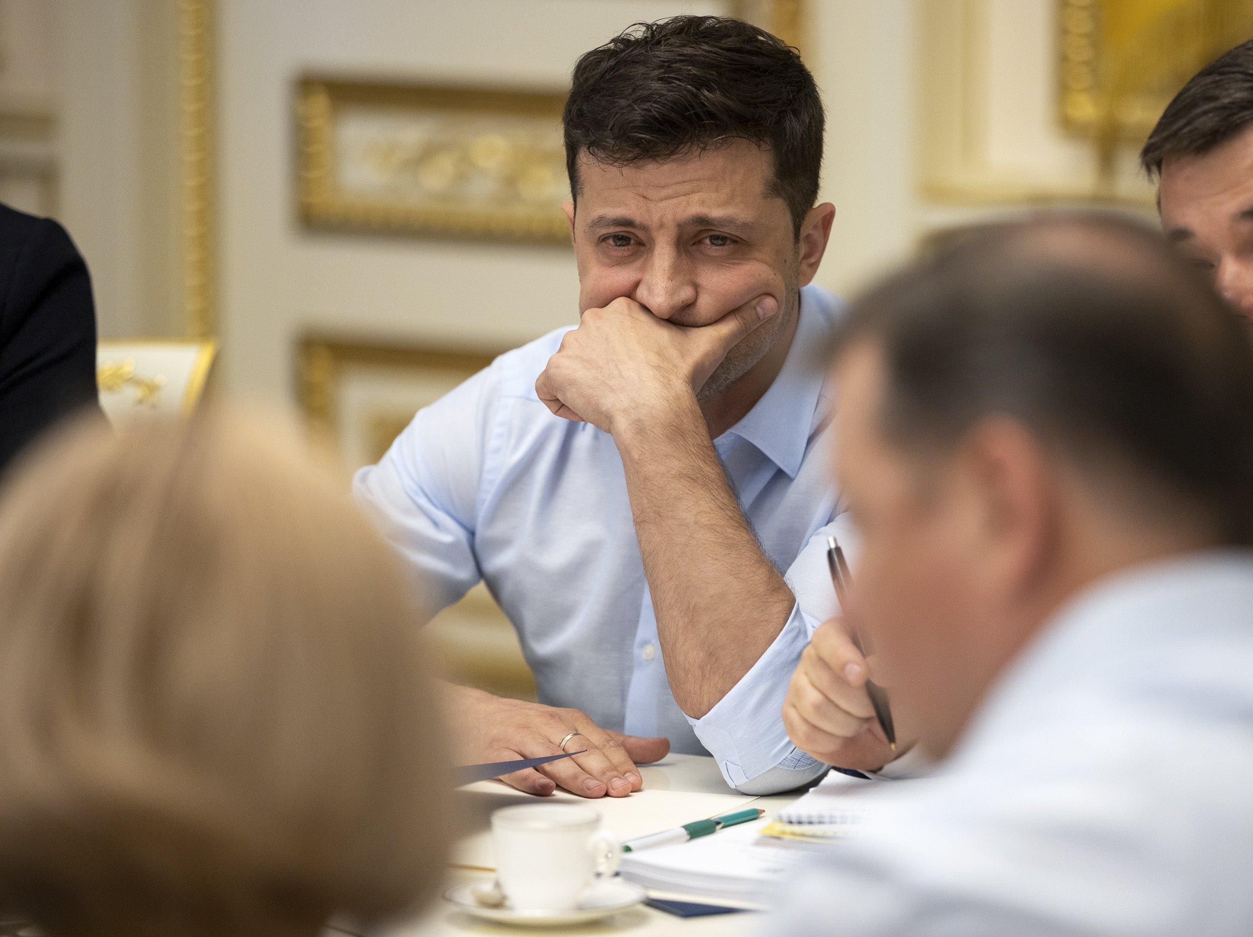 Ukraine's president calls new parliamentary election