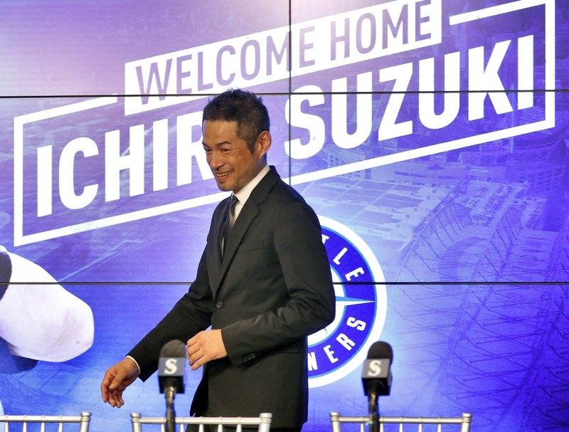 Mariners bring back 44-year-old Ichiro Suzuki