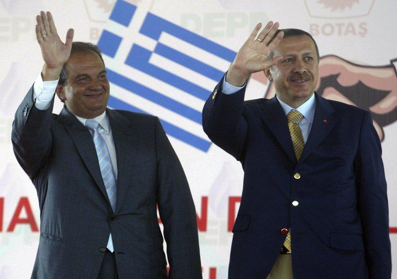 Costas Karamanlis, Recep Tayyip Erdogan