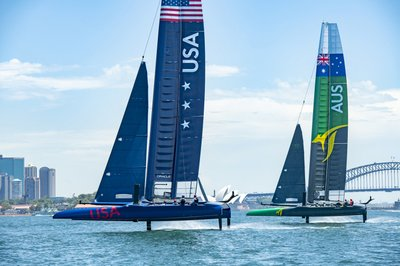 322f881488 High-tech SailGP series hits the water on Sydney Harbour