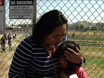 Parents, Kids Grateful, Shaken After Shooting