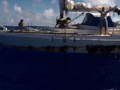 Raw: 2 Mariners Rescued After Months Lost at Sea