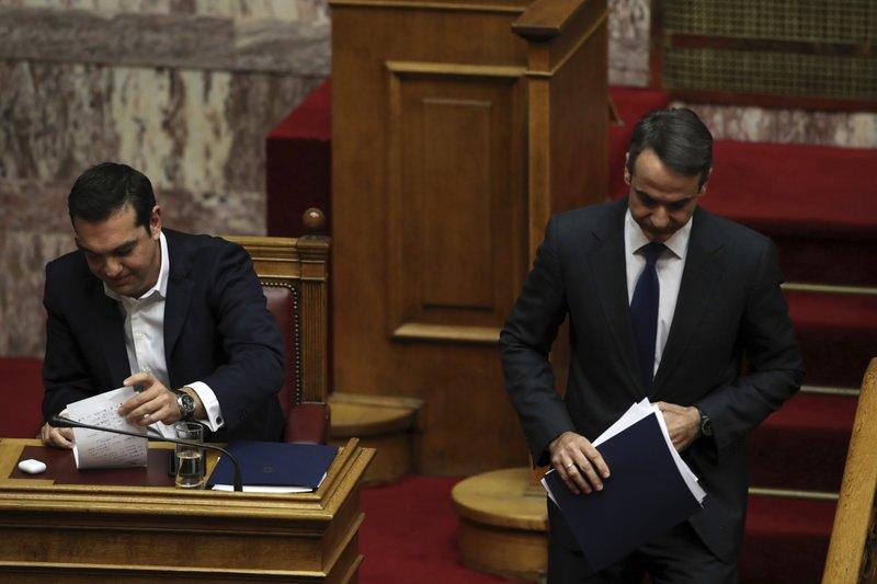 Alexis Tsipras, Kyriakos Mitsotakis