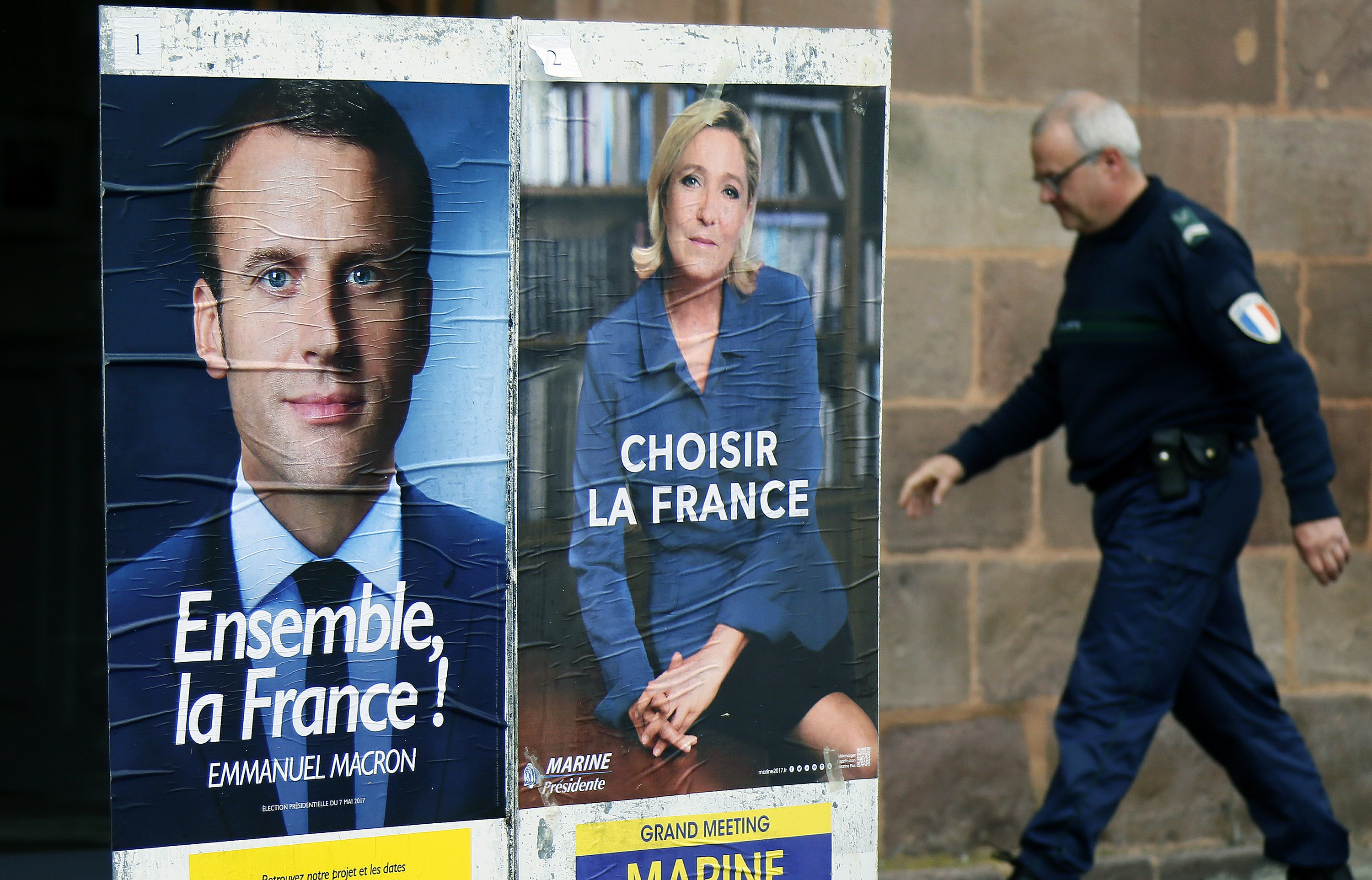 As Bitter French Campaign Ends Macron S Team Hit By Hack