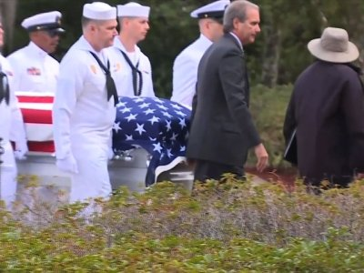 Raw: Military Honors For School Shooting Victim