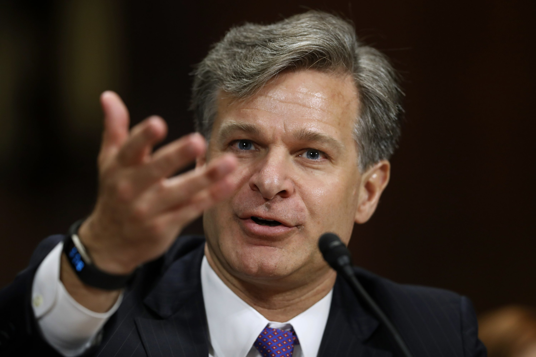 FBI nominee rejects Trump claim: Russia probe no witch hunt