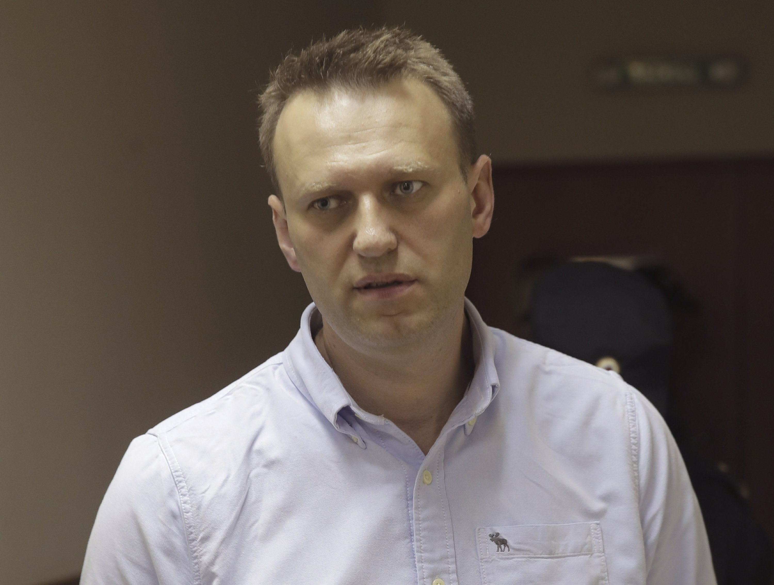 The Latest: Moscow court jails opposition leader for 30 days