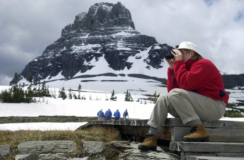 GLACIER PARK OPENS GOING TO THE SUN ROAD