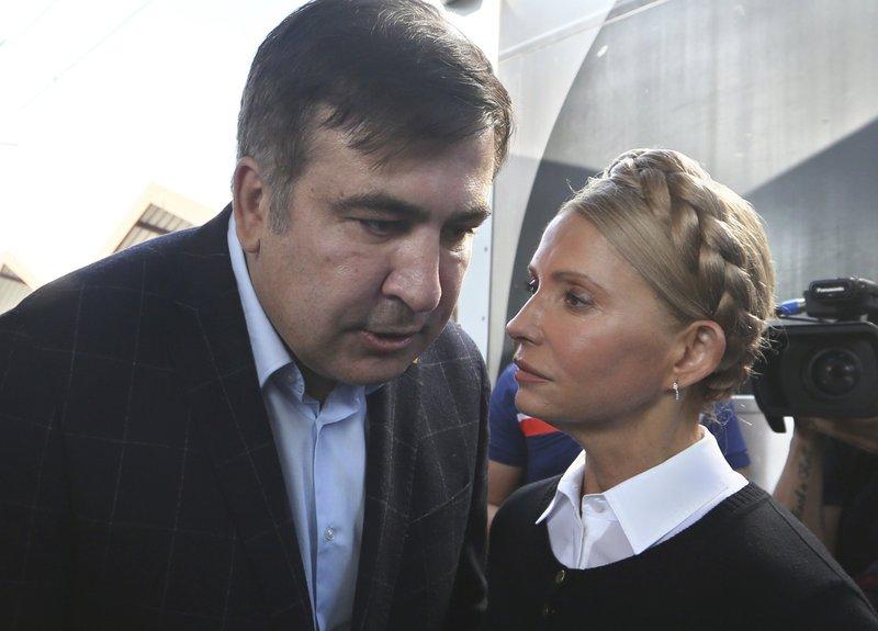 Mikheil Shaakashvili, Yulia Tymoshenko