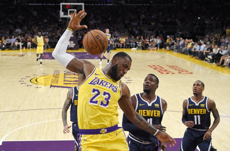 bf925fc69 LeBron in LA  Superstar begins next chapter with Lakers