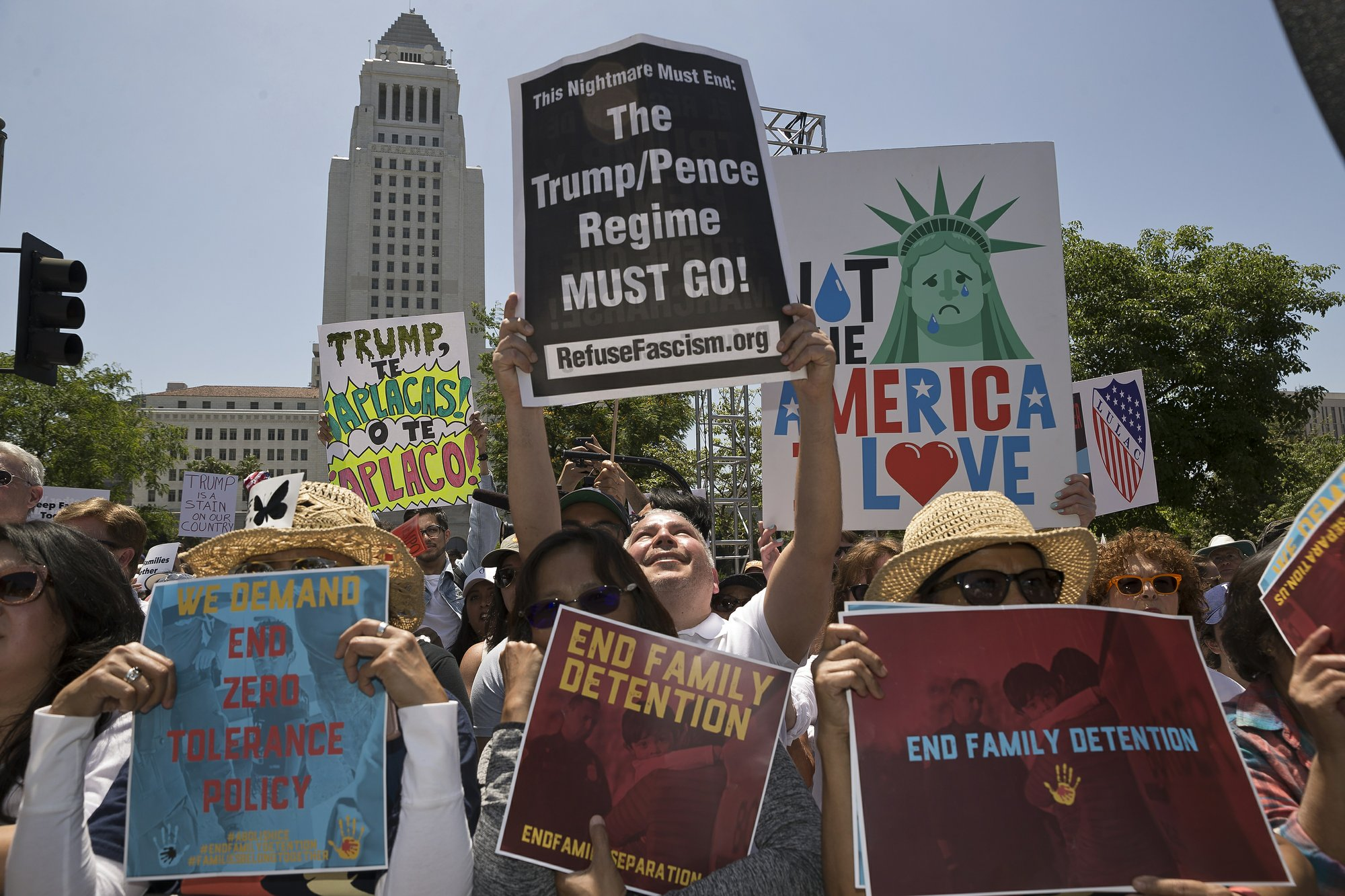 Protests planned nationwide over Trump immigration policy