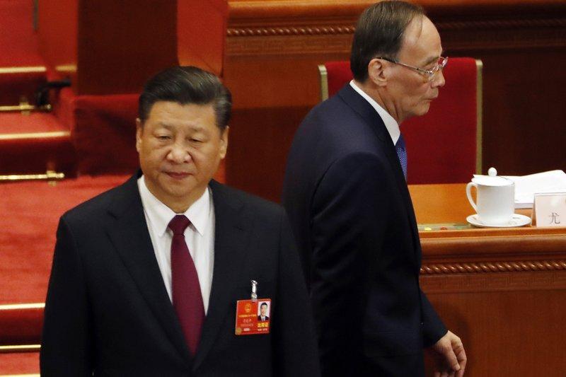 Wang Qishan, Xi Jinping