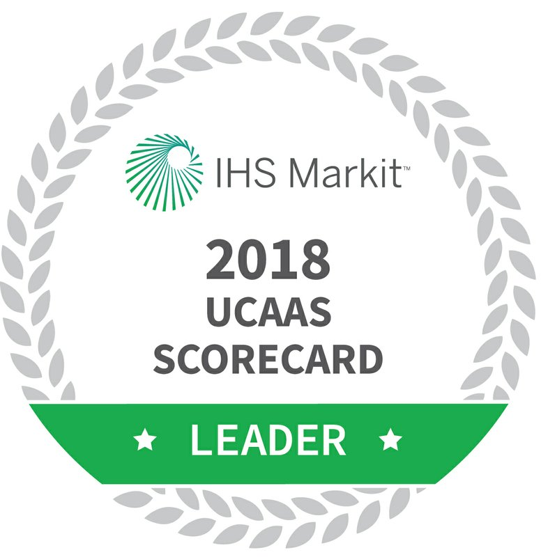 IHS Markit Ranks RingCentral #1 in the 2018 North American UCaaS Scorecard