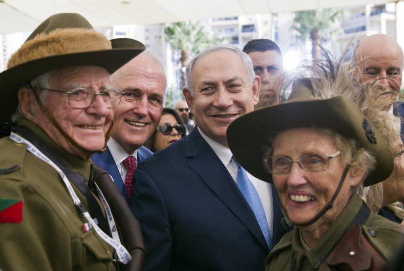 Malcolm Turnbull, Benjamin Netanyahu