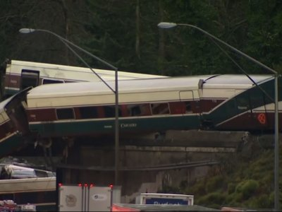 911 Calls Show Washington Train Derailment Chaos