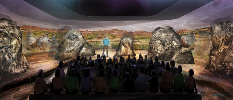 D Hologram Exhibition : Jurassic park dinosaur expert s next big thing holograms
