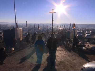 Clergy Protest Against N.D. Pipeline