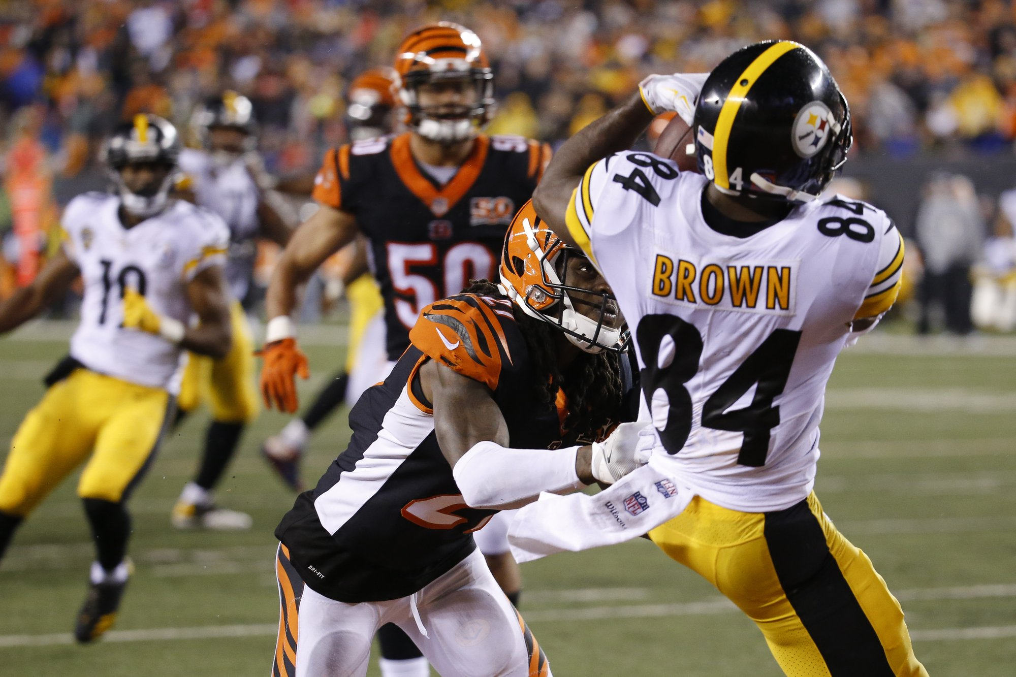 new styles d61a5 bd751 Bengals safety Iloka has 1-game suspension overturned