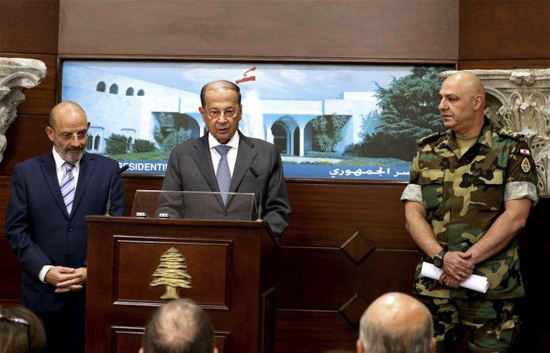 Michel Aoun, Yacoub Sarraf, Joseph Aoun