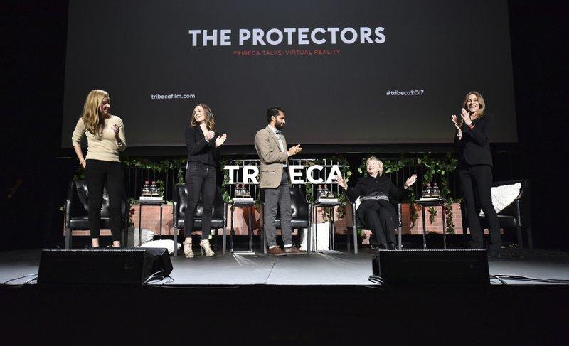 Hillary Clinton, Kathryn Bigelow, Andrea Heydlauff, Rachel Webber, Imraan Ismail