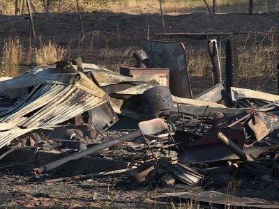 Raw: Destructive Wildfires in Oregon, California